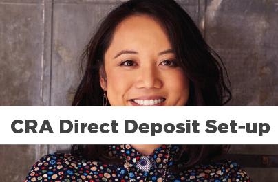 CRA Direct Deposit Information